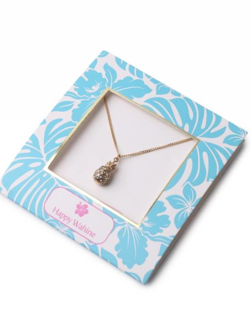 Necklace Aloha Pineapple Gold