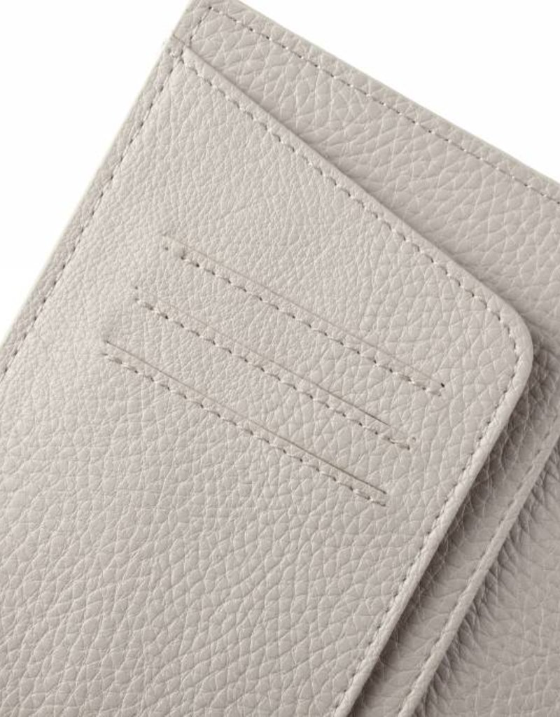 Passport Cover Jenna Coral Beige