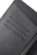Passport Cover Jenna Tapa Tiare Embossed Black