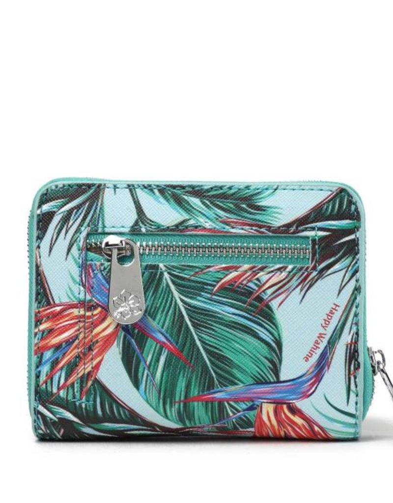 Wallet Meily Bird of Paradise Blue