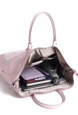 Tote Gabriella Hibiscus Blossom Embossed Pink