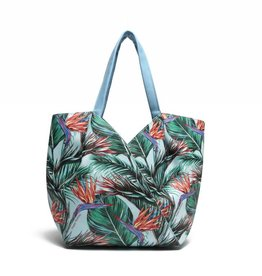 Handbag Kuuipo Bird of Paradise Blue