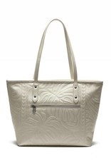 Tote Lianne Monstera Embossed Ivory