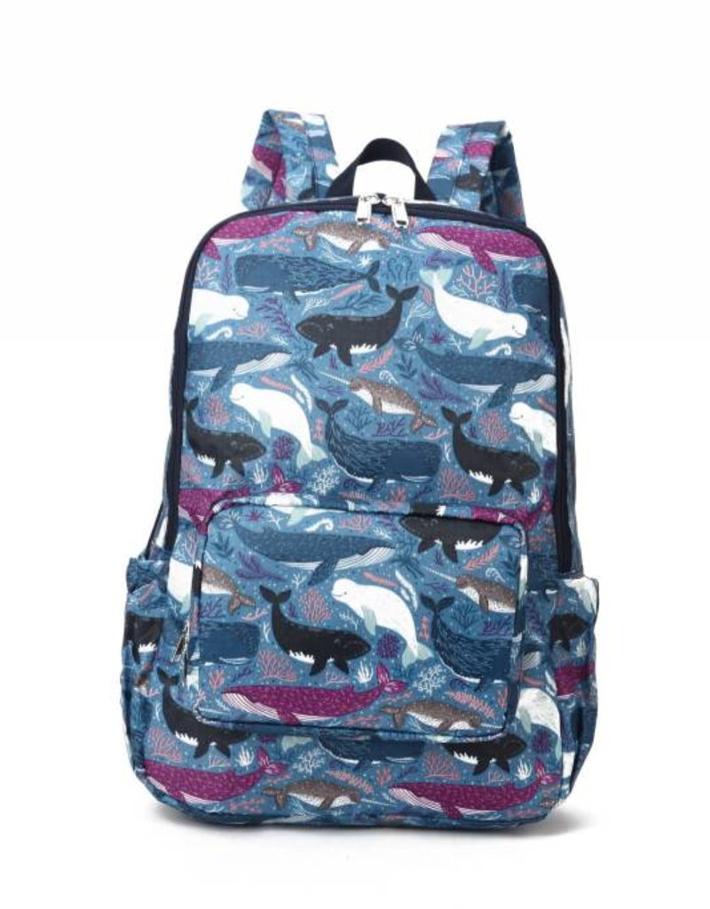Nylon Song Whales Blue