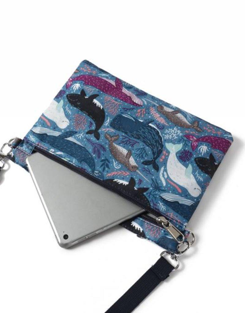 Nylon Jonelle Whales Blue