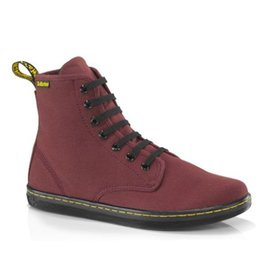 DR. MARTENS SHOREDITCH CHERRY RED CANVAS 729CR-R13524603