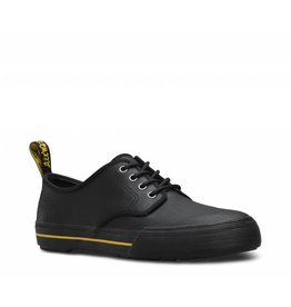DR. MARTENS PRESSLER LEATHER BLACK GREASY LAMPER VULC+MOHAWK SYNTHETIC 463B-R22423001