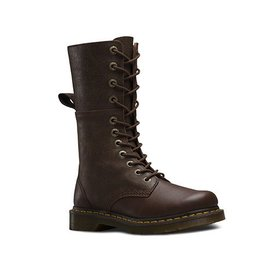 DR. MARTENS HAZIL DARK BROWN VIRGINIA+DARKEN SUEDE 1200DBH-R20346201
