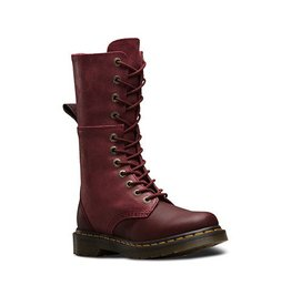 DR. MARTENS HAZIL CHERRY RED VIRGINIA+DARKEN SUEDE 1200CRH-R20346600