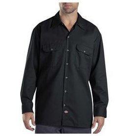 DICKIES Long Sleeve Button Work Shirt