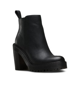 DR. MARTENS MAGDALENA BLACK POLISHED WYOMING M91B-R16734001
