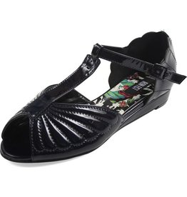 IRON FIST MOTHER OF PEARLS SANDAL BLACK IF10FBP