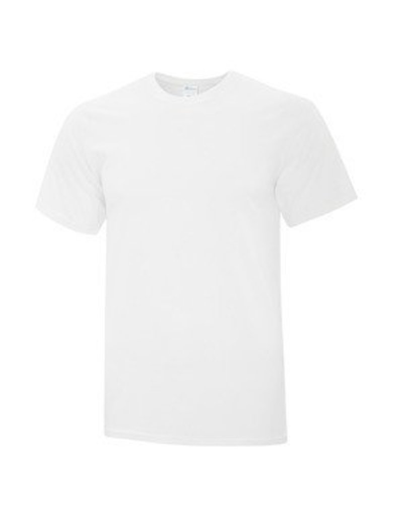 ATC Plain White Short Sleeve Shirt