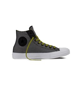 CONVERSE CHUCK TAYLOR II HI BLACK/WHITE/FRESH YELLOW CT17BF-155536C