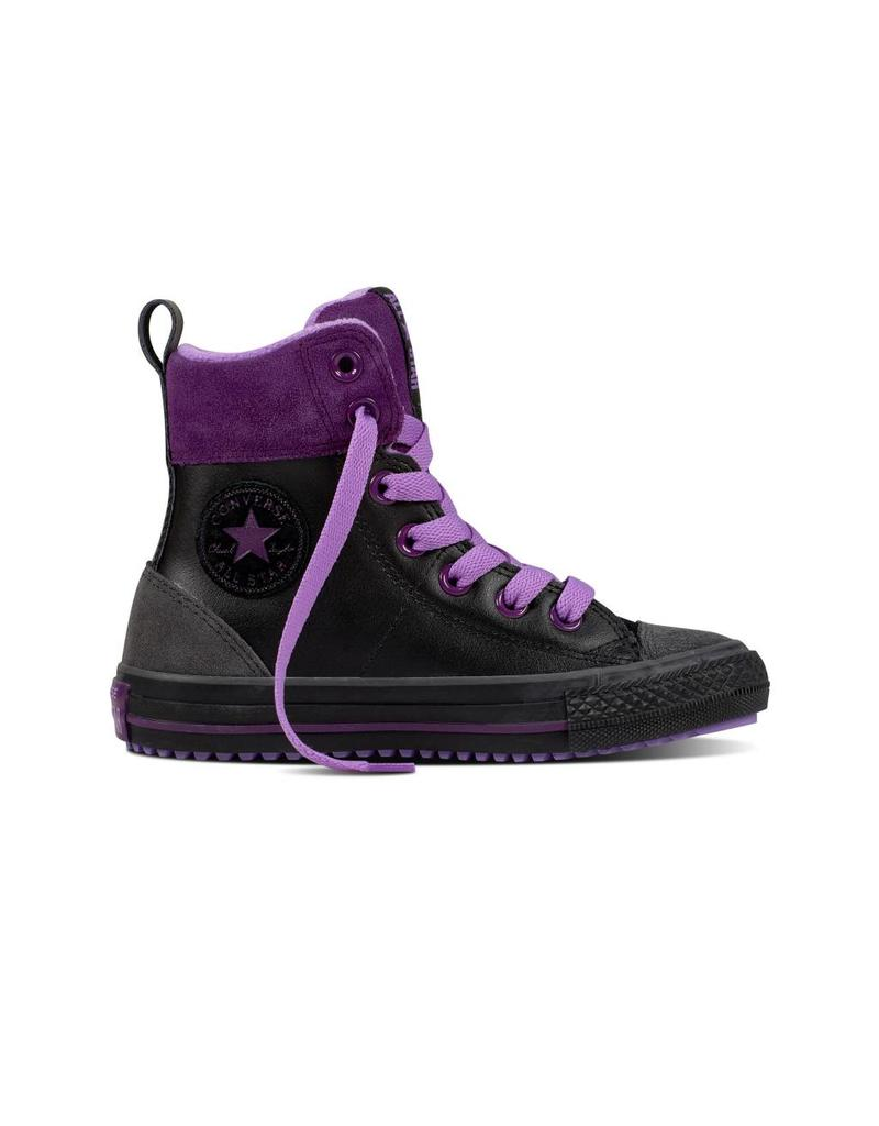 CONVERSE CHUCK TAYLOR ASPHALT BOOT HI BLACK/NIGHT PURPLE CCWBMO-658067C