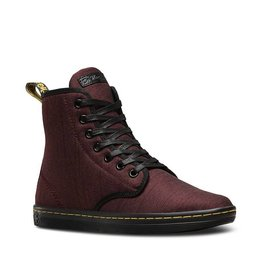 DR. MARTENS SHOREDITCH CHERRY RED SERGE 729CRS-R22791600