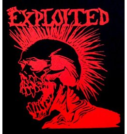 Exploited Red Skull Shirt