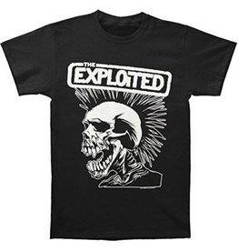 Exploited Rectangle White Skull Shirt