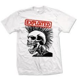 Exploited Red Rectangle Skull Shirt