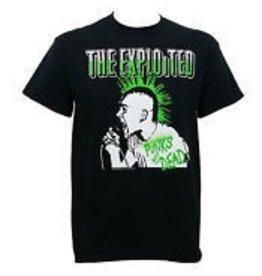 Exploited Green Mohawk Shirt