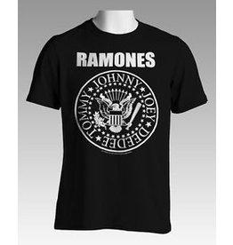 Ramones Logo Small Print Shirt