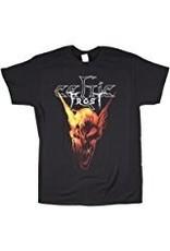 Celtic Frost Orange Skull Shirt X-Large