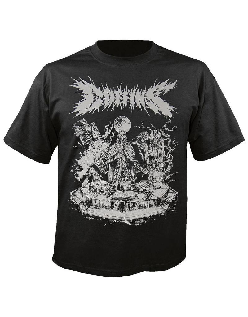 Coffins Skeletons Shirt Large