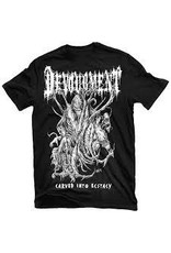 Devourement Carved Into Ecstacy Shirt Medium