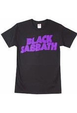 Black Sabbath Purple Logo Shirt