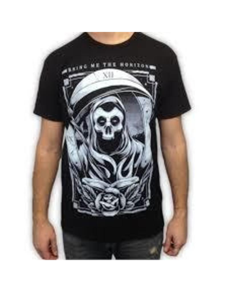 Bring Me the Horizon Blue Skeleton Shirt