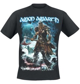 Amon Amarth Blue Viking Shirt
