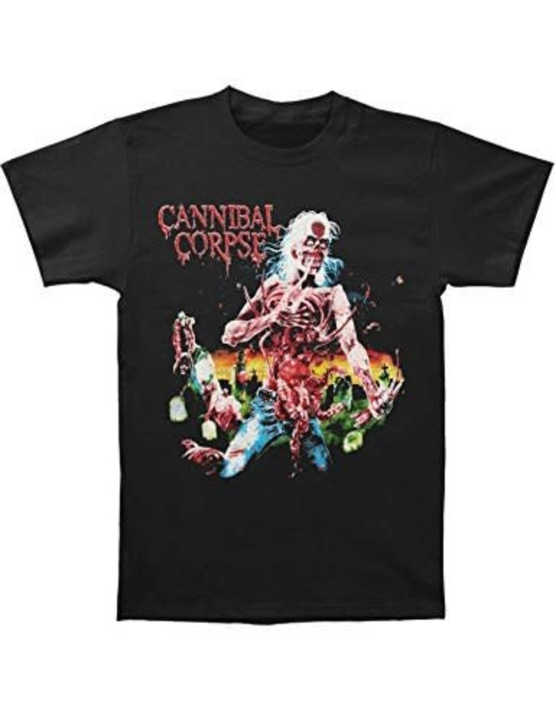 Cannibal Corpse Eaten Back to Life Shirt Black