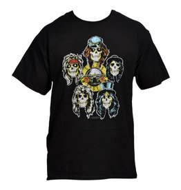 Guns N Roses Five Skulls Shirt