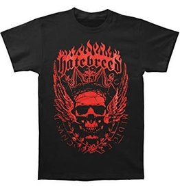 Hatebreed Red Skull Shirt Large
