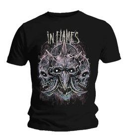 In Flames Three Skulls Shirt