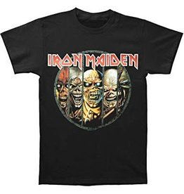 Iron Maiden Eddy`s Faces Shirt