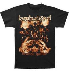 Lamb of God Broken Hands Shirt