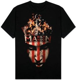 Marilyn Manson Fire Shirt