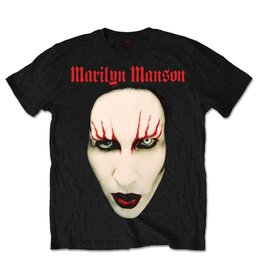 Marilyn Manson Red Makeup Shirt