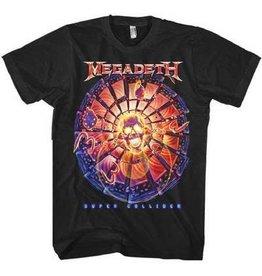Megadeth Orange Circle Print Shirt