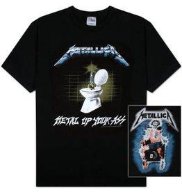 Metallica Metal Up Your Ass Shirt