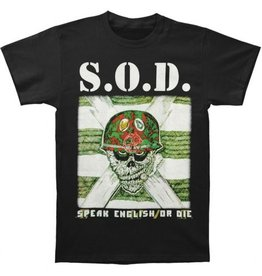 S.O.D. Speak English or Die Shirt