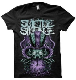 Suicide Silence Purple Tophat Shirt