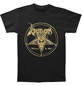 Venom Welcome to Hell (Lyrics on back) Shirt