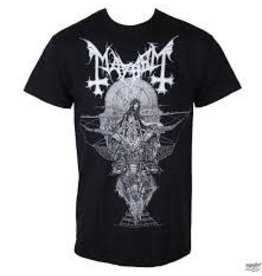 Mayhem Silver Woman Shirt