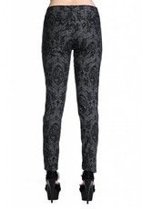 BANNED BANNED - Cross Cameo Grey Trousers