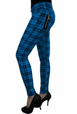 BANNED - Checkered Blue Pants