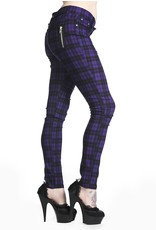 BANNED BANNED - Purple Checkered Pant