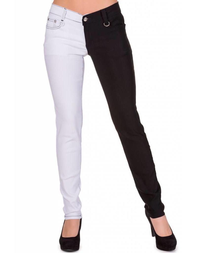 BANNED - Half Black/White Pants