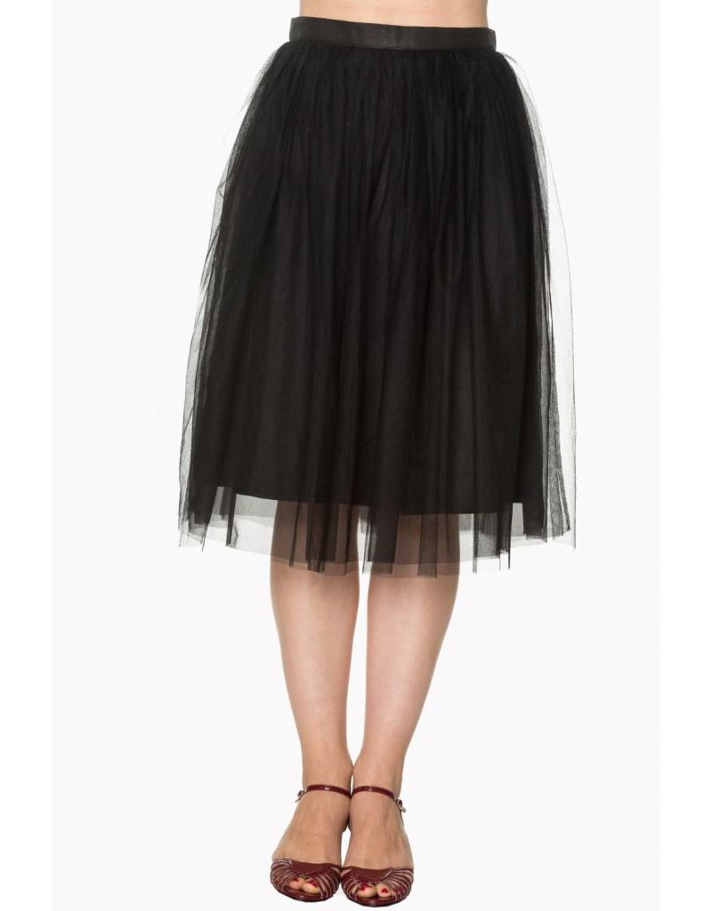 BANNED BANNED - FreeFall Black Skirt